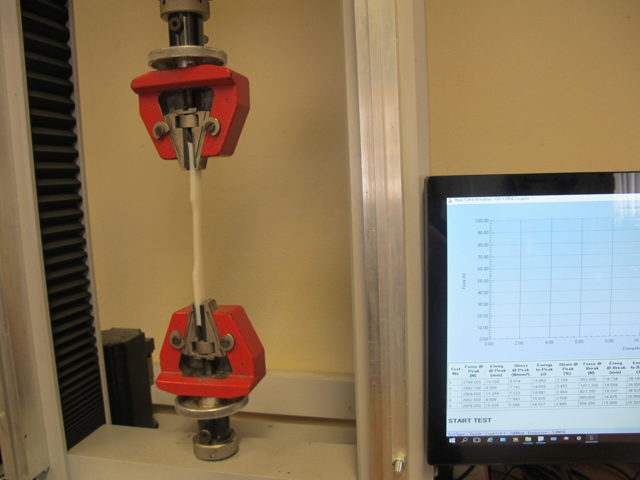 Material Testing of Pipe